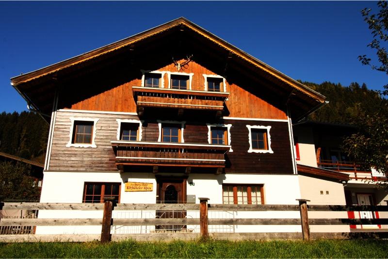 Haus Kitzbuheler Alpen voorzijde