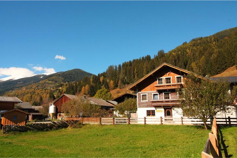 Haus Kitzbuheler Alpen vrij uitzicht op de bergen vanuit