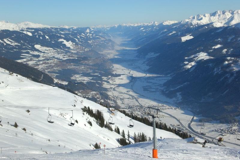 Prachtuitzicht op het dal