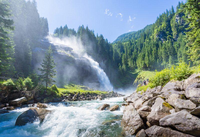Krimml waterval