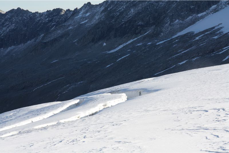 Gletsjerspleten Grossvenediger