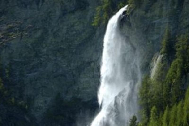 Krimmler Wasserfalle zomer